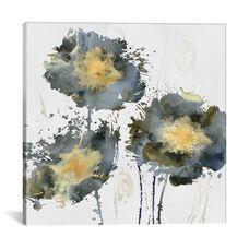 Flower Burst Trio by Vanessa Austin Gallery Wrapped Canvas Artwork - 37