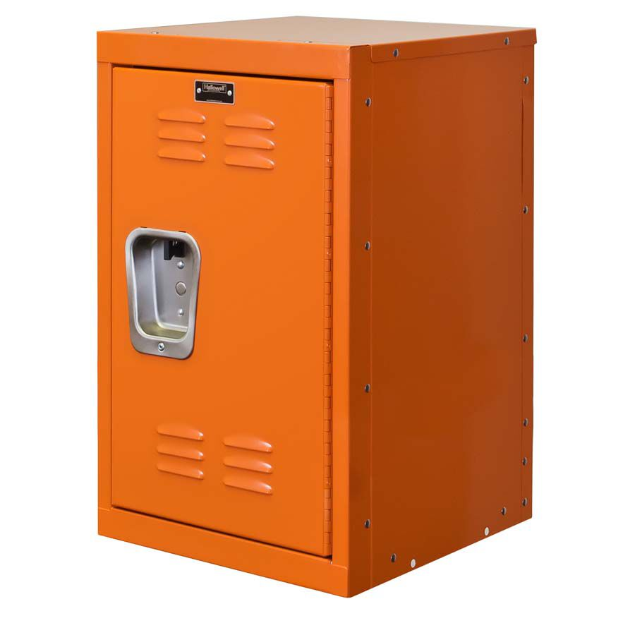 Hoop Orange Kids Mini Locker   Unassembled   15
