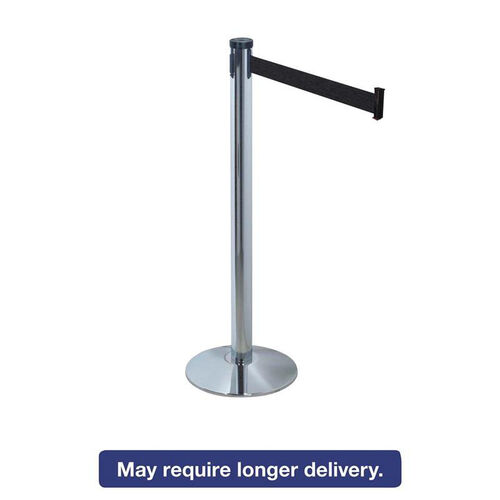 Our Tatco Adjusta-Tape Crowd Control Stanchion Posts - Nylon - 40