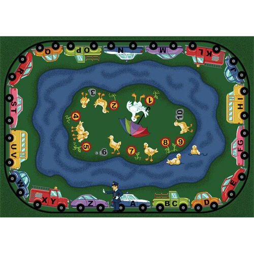 Our Puddleducks Rug is on sale now.