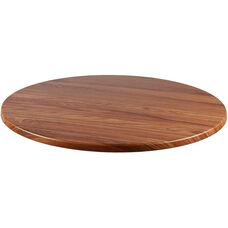 Duratop Outdoor 28'' Round Table Top - Teak