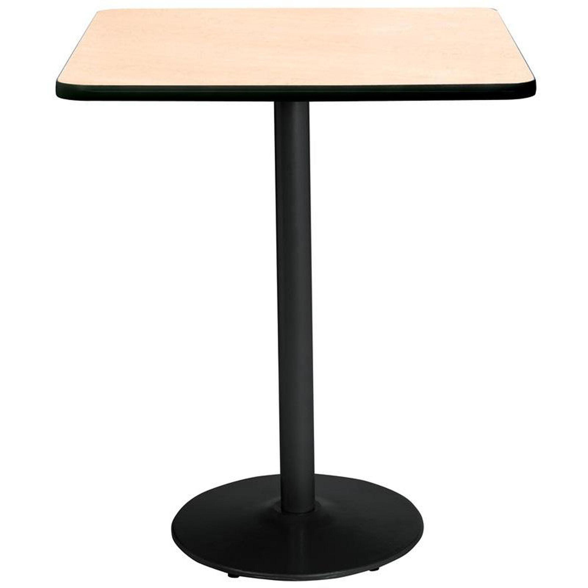 Kfi Seating 30 39 39 Square Laminate Bistro Height Pedestal