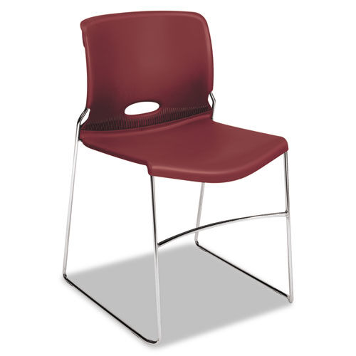 Our HON® Olson Stacker Series Chair - Mulberry - 4/Carton is on sale now.