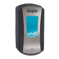 GOJO® LTX-12 Touch-Free Dispenser - 1200mL - 5 1/4 x 3 1/3 x 10 1/2 - Brushed Chrome/Black