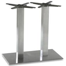 Elite Stainless Steel Double Column Rectangular Base