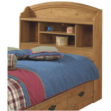 Prairie Collection Twin Size Bookcase Headboard