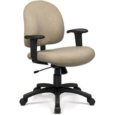 Desire Task Chair with Low Backrest - Grade B