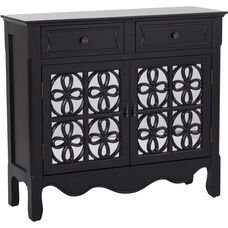 Inspired by Bassett Danbury Hall Chest - Brushed Black