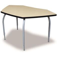 ELO Bridge High Pressure Laminate Table Junior with Adjustable Legs and 1.25