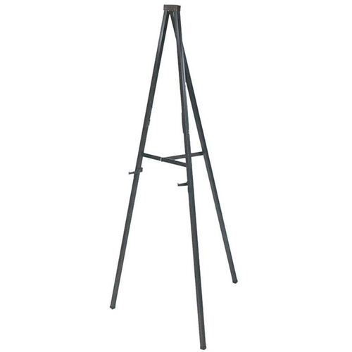 Snap Lightweight Portable Presentation Telescoping Easel with Nonskid Feet and Adjustable Board Holders