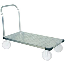 Light Duty Thrifty Plate Aluminum Tread Platform Truck - 30