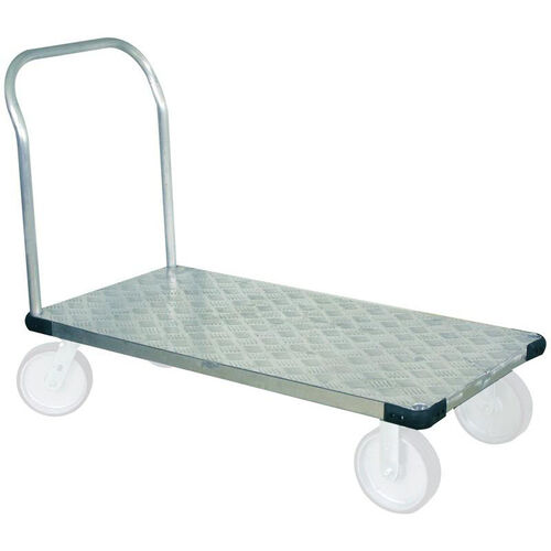 Our Light Duty Thrifty Plate Aluminum Tread Platform Truck - 30