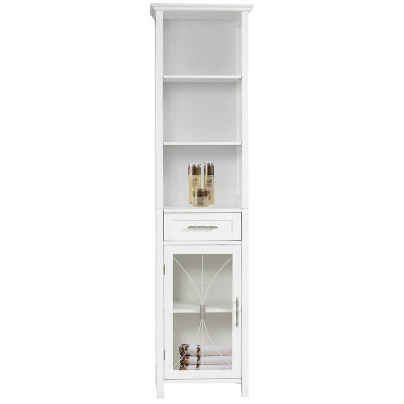Beau ... Our Delaney Linen Cabinet With One Drawer And 3 Open Shelves   White Is  On Sale ...