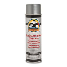 Genuine Joe Stainless Steel Cleaner And Polish - Aerosol Can - 15 oz.