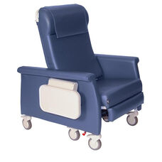 XL Elite Care Cliner With Swing Away Arms Nylon Casters