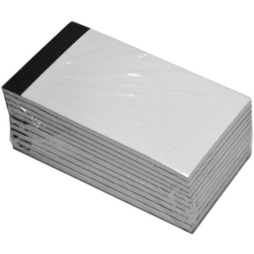 Refill Pack of 10 White Note Pads for Note Jotters