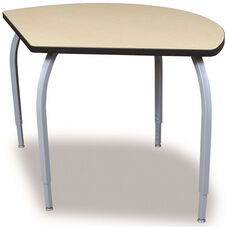 ELO Circlet High Pressure Laminate Table Junior with Adjustable Legs and 1.25