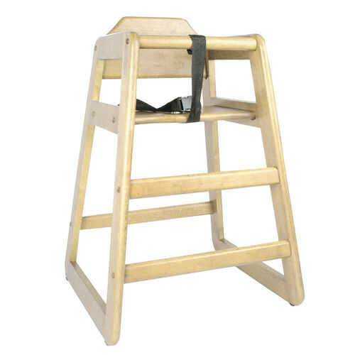 Our Wood Finish High Chair is on sale now.