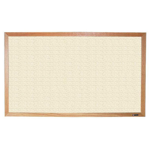 Our 700 Series Tackboard with Wood Frame - Fabricork - 48