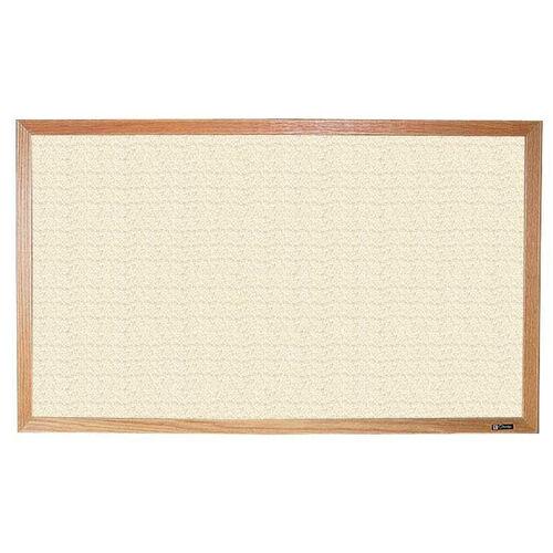 700 Series Tackboard with Wood Frame - Fabricork - 48