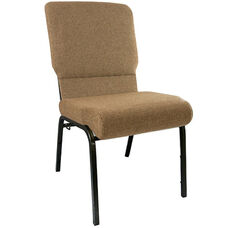Advantage Mixed Tan Church Chairs 18.5 in. Wide