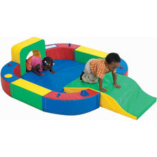 Play ring with Tunnel and Slide