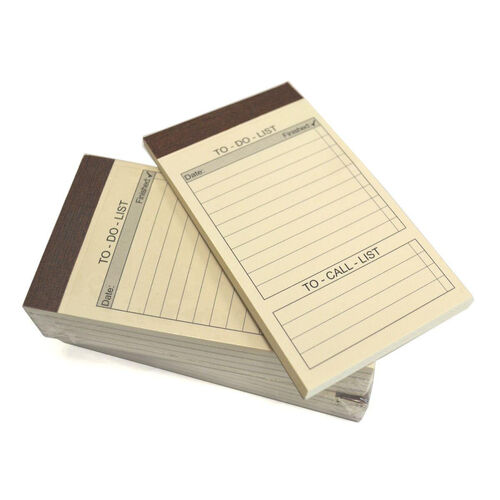 Our Refill Pack of 10 To Do List Note Pads for Note Jotters is on sale now.