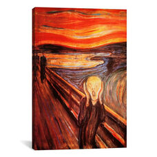 The Scream by Edvard Munch Gallery Wrapped Canvas Artwork - 26