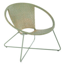 Inspired By Bassett Navarre Lounge Chair - Green Fade with Green Frame