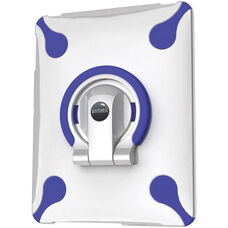 MultiStand for iPad 1 -White Shell with White and Blue Ring