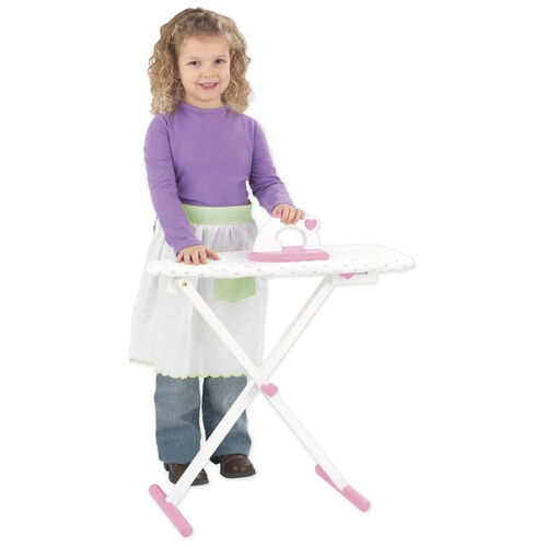 Our Kids Wooden Make-Believe Tiffany Bow Ironing Board Play Set -White is on sale now.