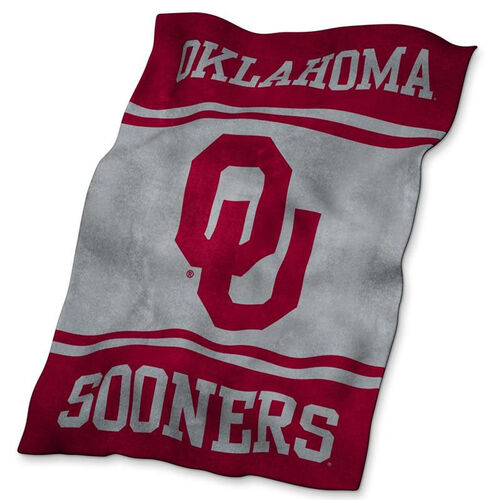 Our University of Oklahoma Team Logo Ultra Soft Blanket is on sale now.