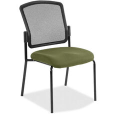Dakota2 Mesh Back 19'' W x 25'' D x 35.5'' H Stack Chair Armless - Healthcare Fabrix