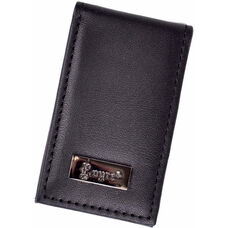 Prima Magnetic Money Clip - Top Grain Nappa Leather - Black