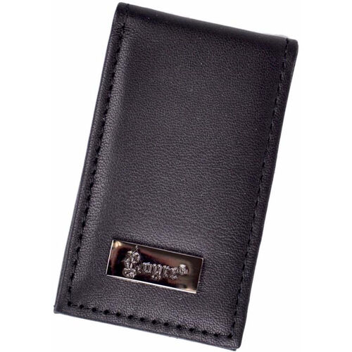 Our Prima Magnetic Money Clip - Top Grain Nappa Leather - Black is on sale now.
