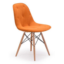 Probability Dining Chair in Orange