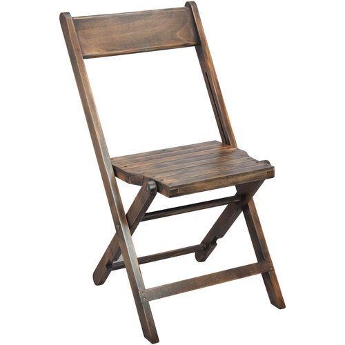 Our Advantage Slatted Wood Folding Wedding Chair - Antique Black is on sale now.