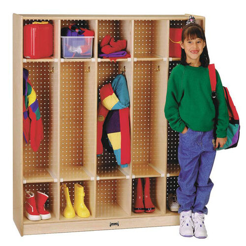 Coat Locker - 5 Sections