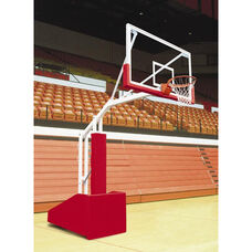 T-Rex 66 Side Court Portable Basketball System