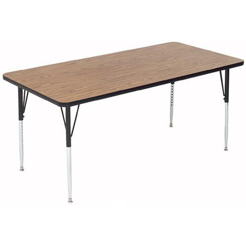 Our Adjustable Height Rectangular Laminate Top Activity Table - 36