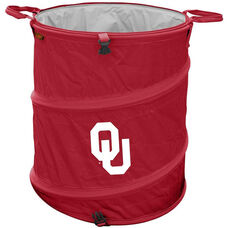 University of Oklahoma Team Logo Collapsible 3-in-1 Cooler Hamper Wastebasket