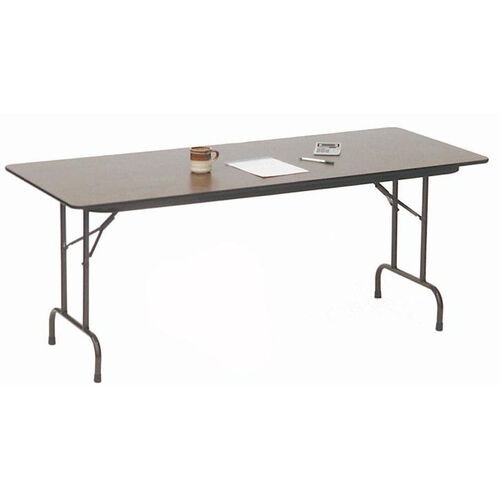Standard Fixed Height Solid Plywood Core Rectangular Folding Table - 30