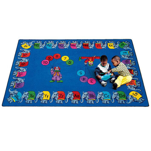 Our Circus Elephant Parade Rug is on sale now.