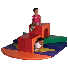 SoftZone® Bright Colors Vinyl Covered Foam Against the Wall High Rise Climber