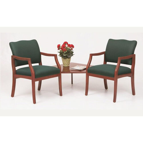 Our Franklin Series Guest Chairs with Connecting Corner Table is on sale now.