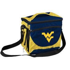 West Virginia University Team Logo 24 Can Cooler