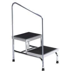 Two-Step Stool with Handrail