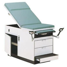 Maximum Value Exam Table with Two Drawers
