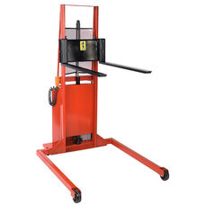 Battery Powered Adjustable Span Straddle Model Stacker