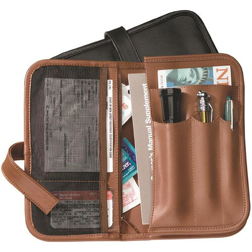 Our Automobile Organizer - Genuine Leather - Tan is on sale now.